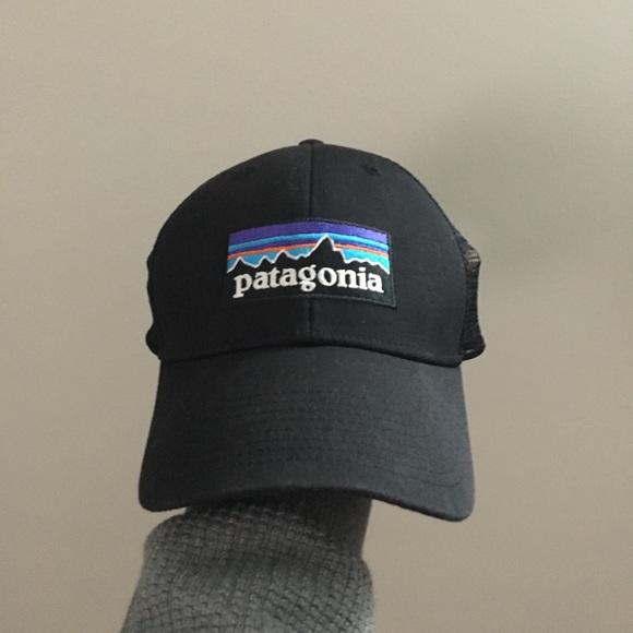 NEW Black Patagonia P-6 LoPro Trucker Hat. M 5bfea8562e14782c3262f26f f5c82fedf3bc